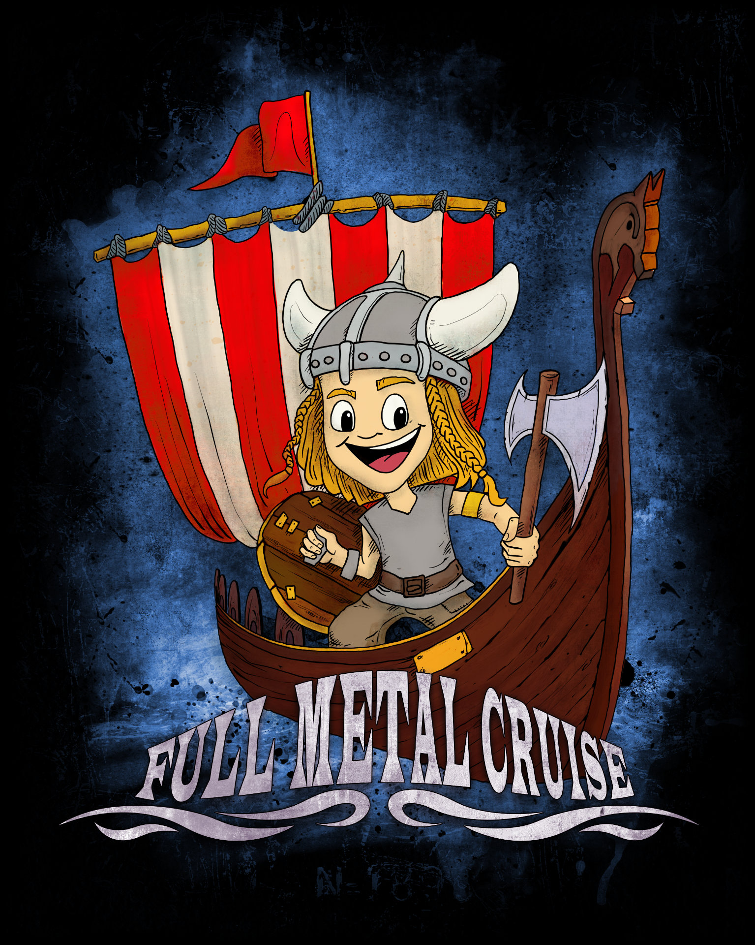 Full Metal Cruise VII - T-Shirt Kids