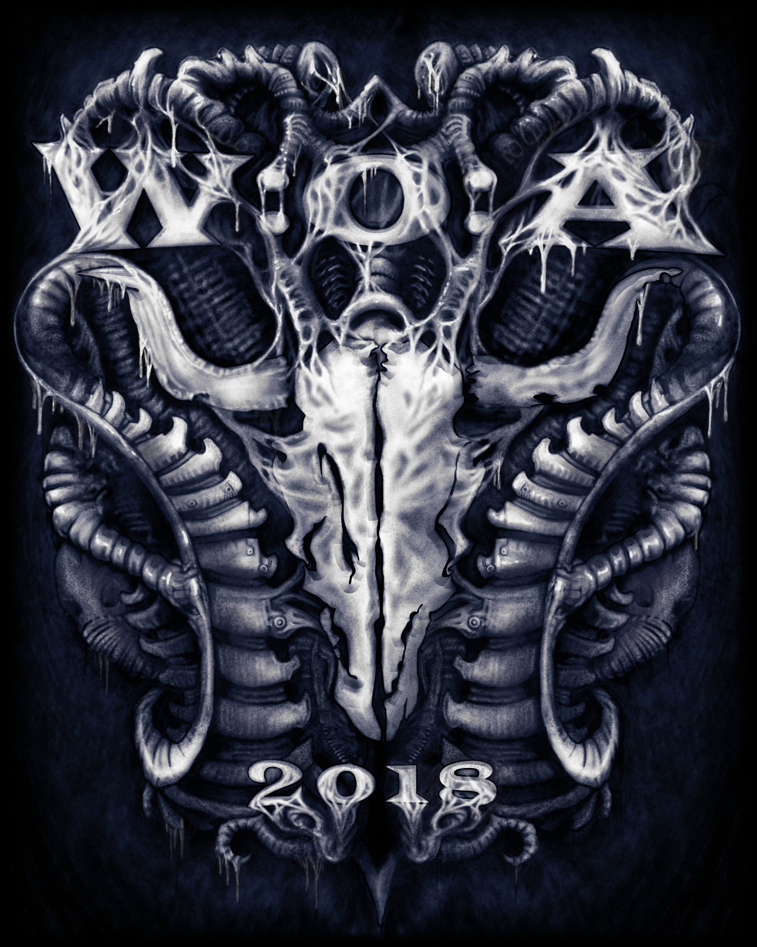 Wacken Open Air 2018 - Giger Shirt