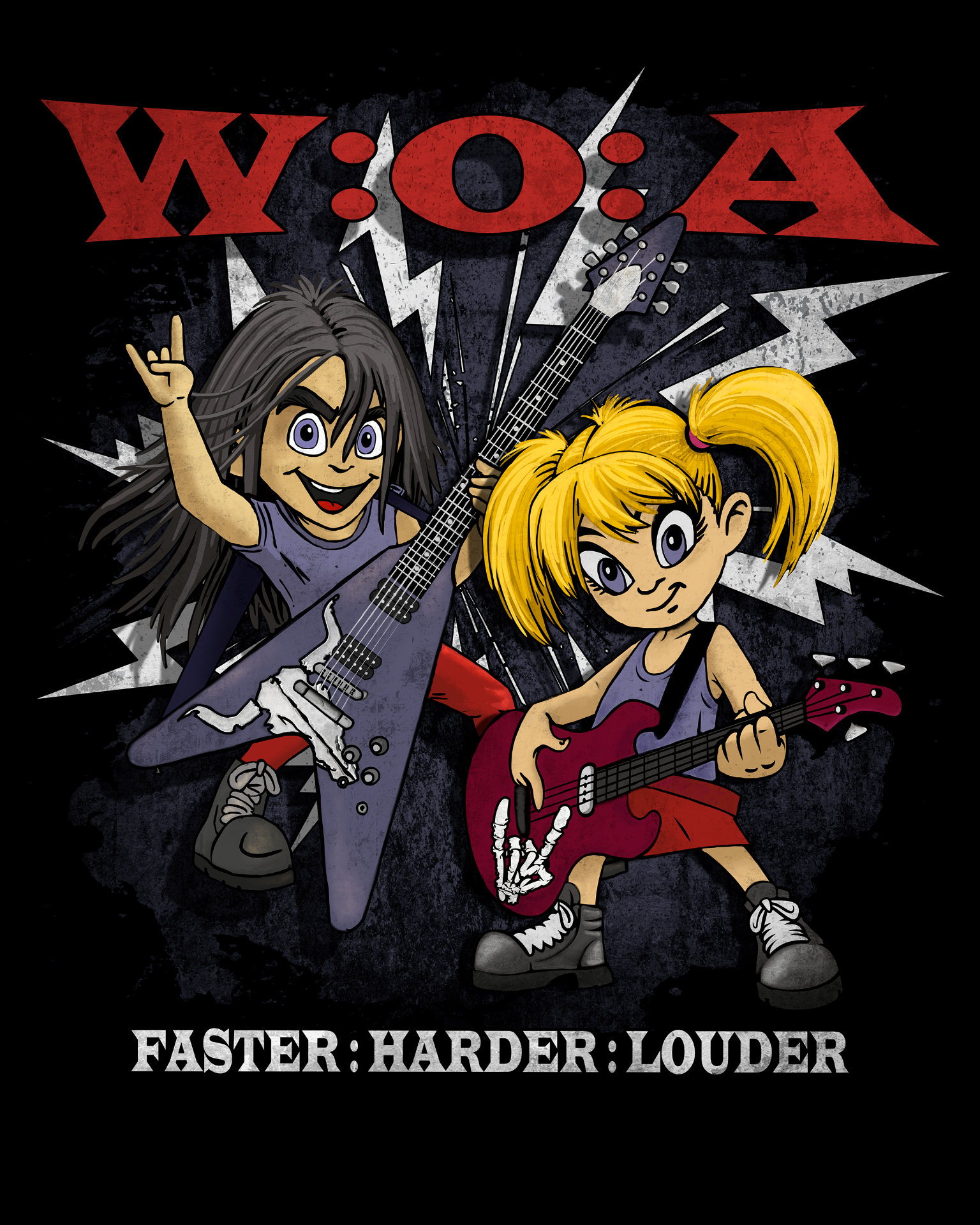 Wacken Open Air XXX Kids Shirt Boy + Girl